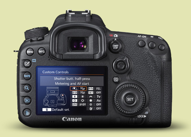 canon eos 7d mark ii aps c 22 3 x 14 9 mm fotocamere. Black Bedroom Furniture Sets. Home Design Ideas