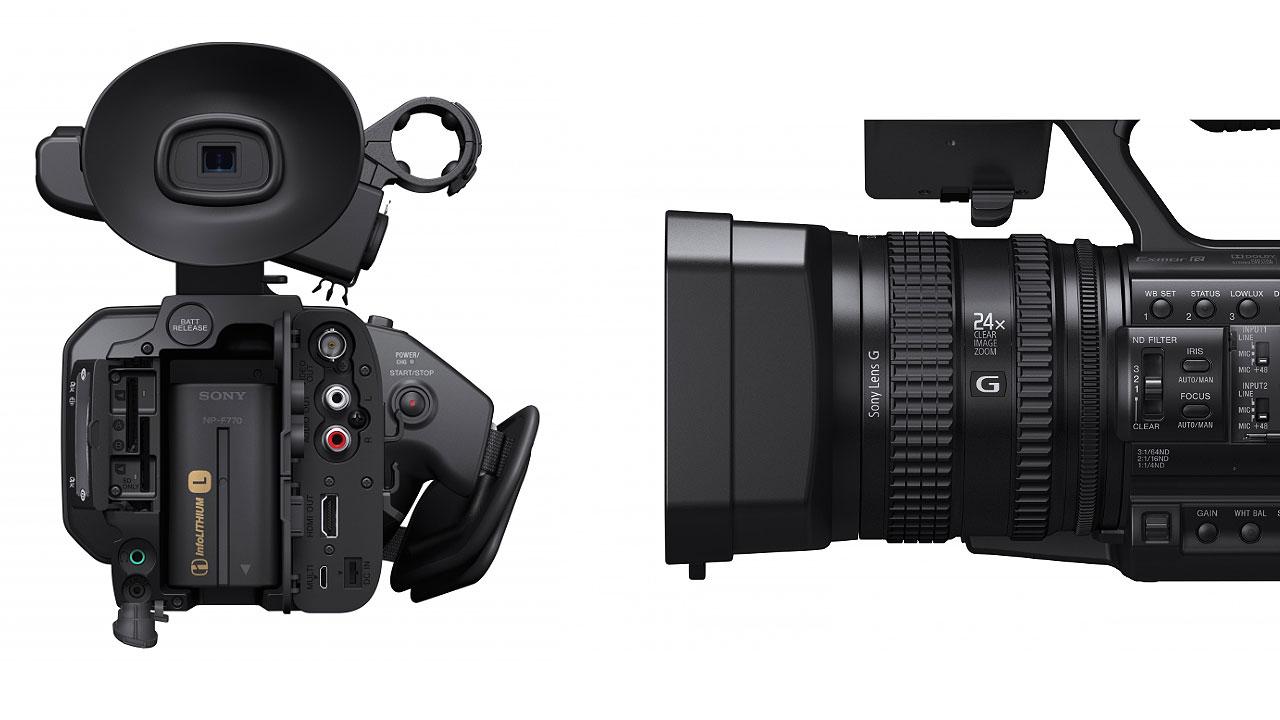 sony hxr nx100 1 sensor professional camcorders productio new. Black Bedroom Furniture Sets. Home Design Ideas