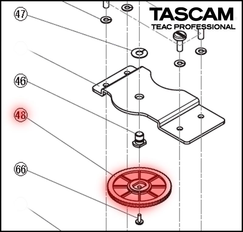 tascam m03511700b wire wireless spare parts audio new rh adcom it