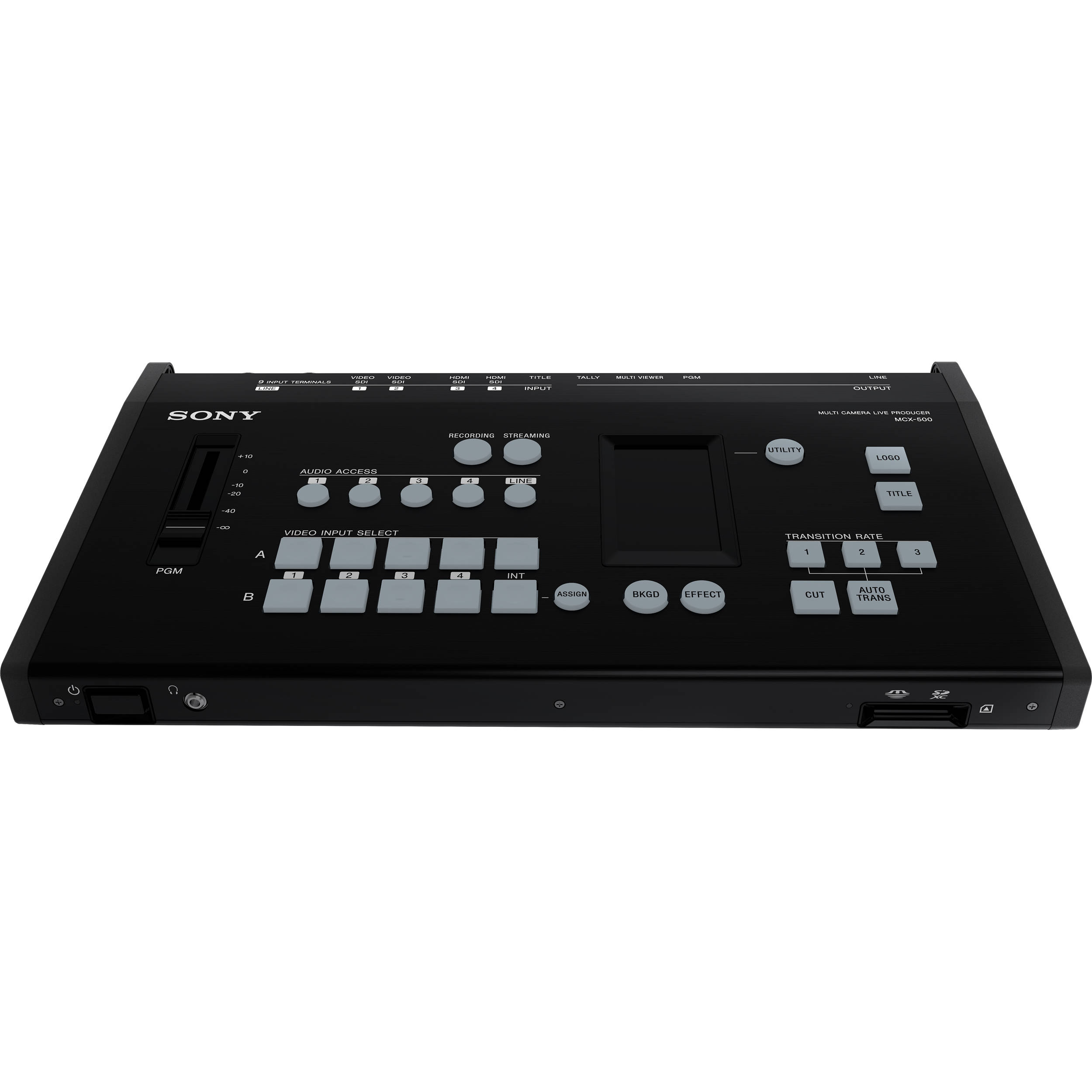 Sony Mcx 500 Mixer Video Integrated For Streaming