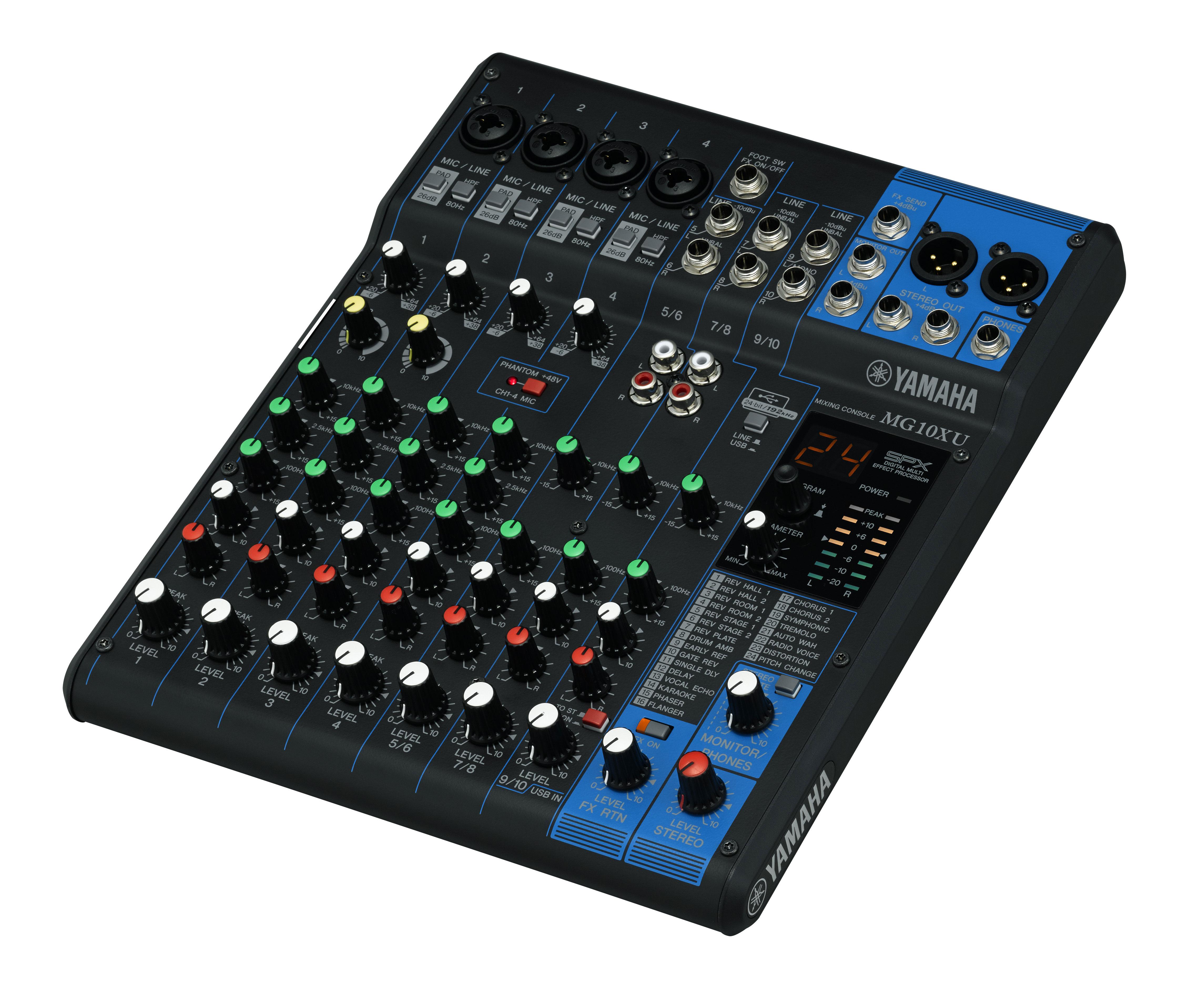 Yamaha MG10XU | Audio Mixer | Audio Mixer | Audio - New