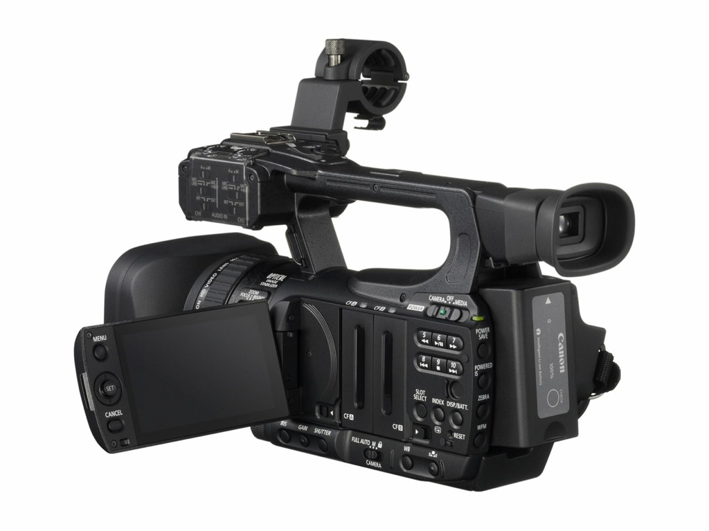 canon xf100 hard bag kit 1 3 sensor professional camcorders