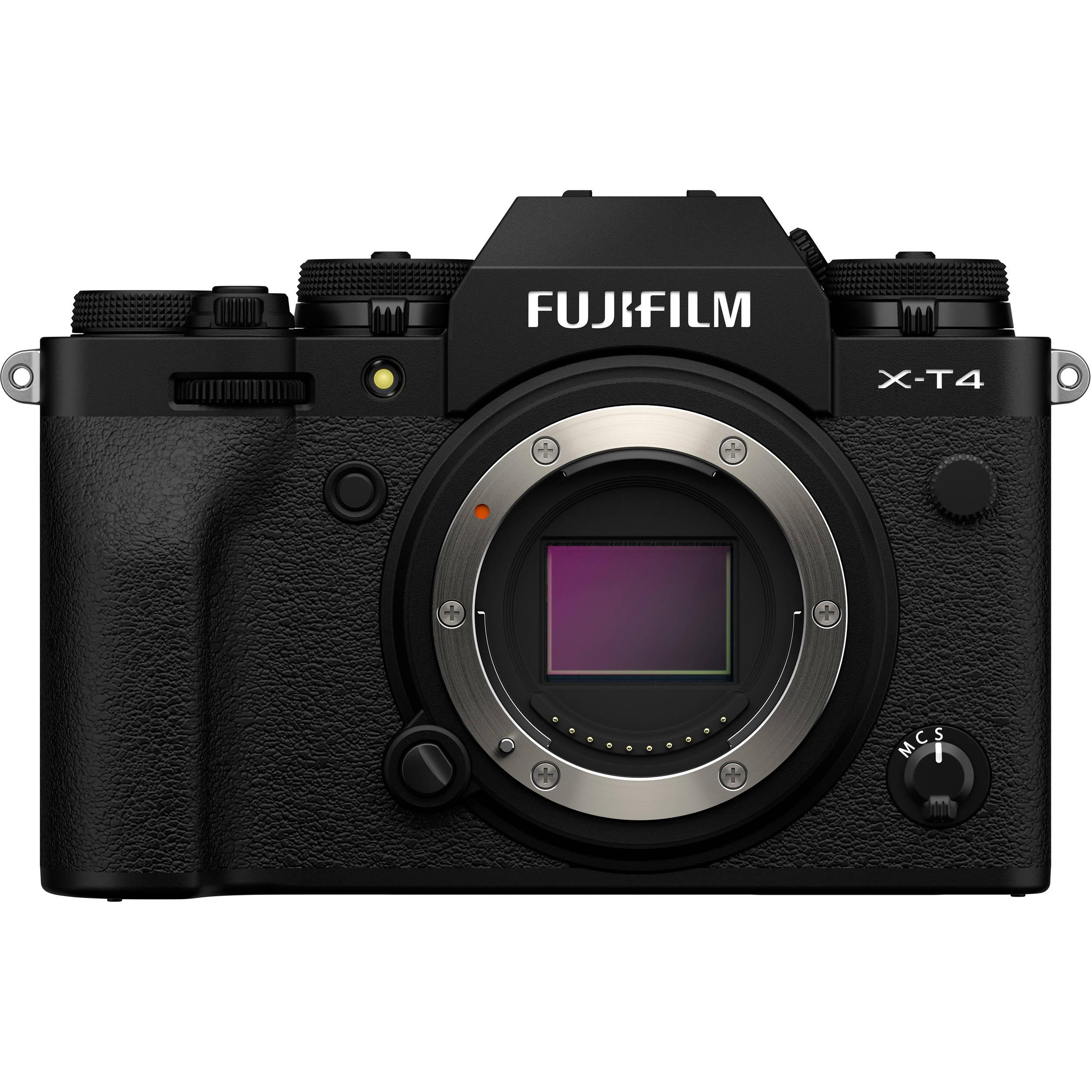 Fuji X T4 black | Sensore APS C | Camere Mirrorless | Camere e Droni - Nuovo