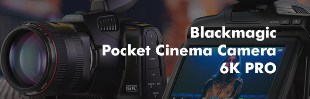 Pocket Cinema Camera 6K PRO