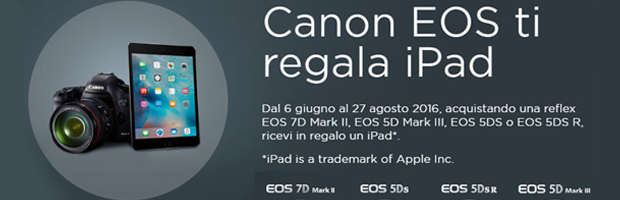 Eos regala Ipad
