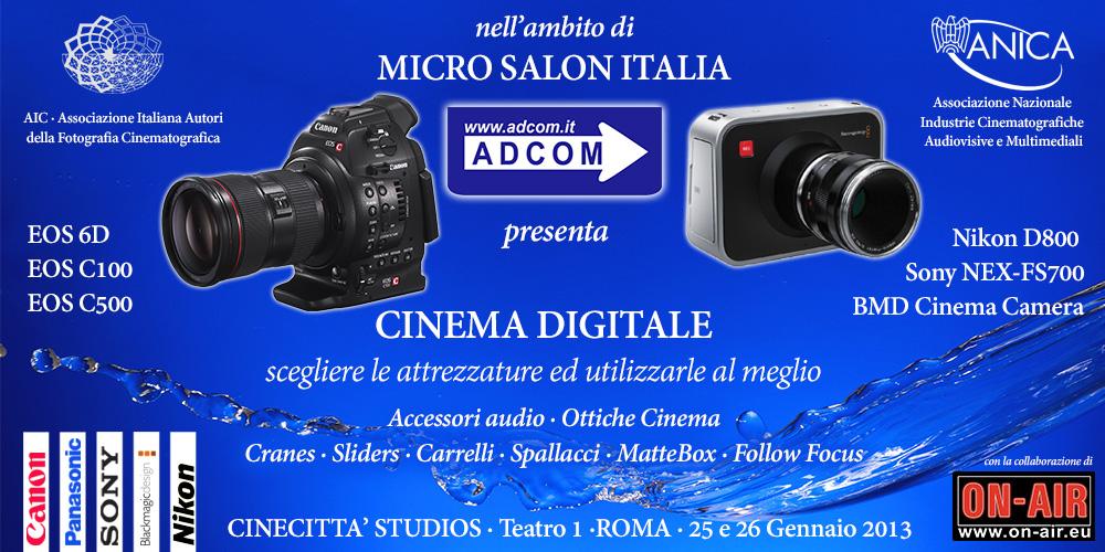 Micro Salon Italia: ADCOM - Cinema Digitale
