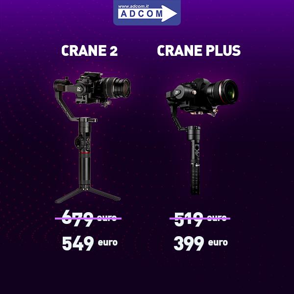 Crane2 e Crane Plus
