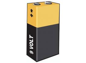 Duracell batterie 9v multiuso batterie staffe for Porta batteria 9v